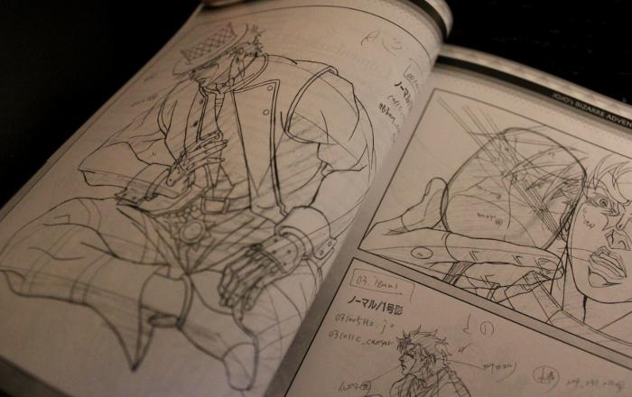 edición coleccionista de JoJo's Battle Tendency, de Selecta Visión genga 3 - el palomitron