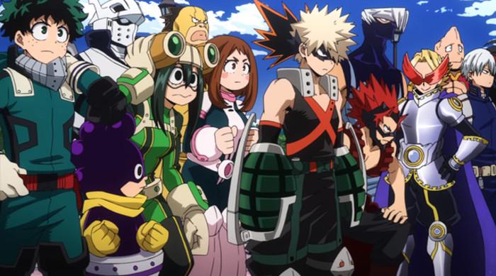 estreno de la tercera temporada de Boku no Hero Academia heroes - el palomitron