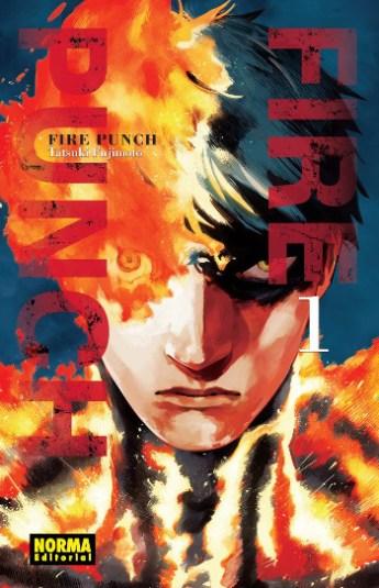 reseña de fire punch #1 portada - el palomitron