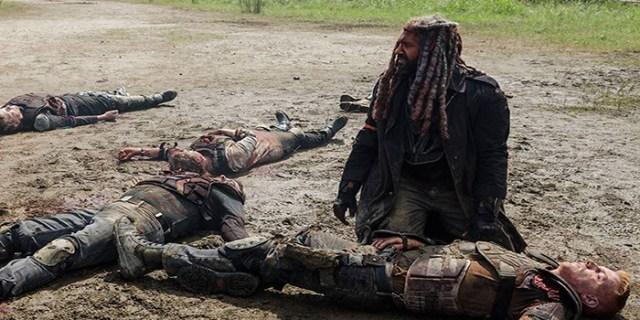 Ezekiel y muertos The Walking Dead El Palomitrón
