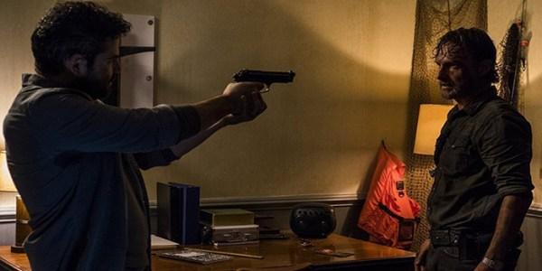 Morales y Rick The Walking Dead El Palomitron
