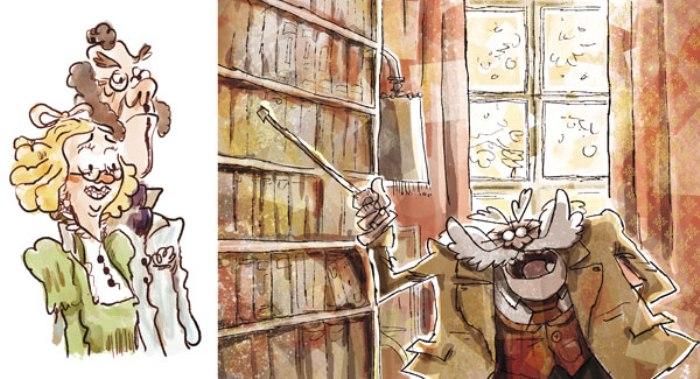 Elio Dibujos Libro El Palomitrón