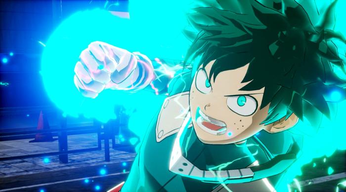 Teaser tráiler y gameplay de My Hero Academia One's Justice deku - el palomitron