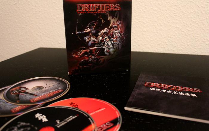 edición coleccionista de Drifters, de Selecta Visión edicion - el palomitron