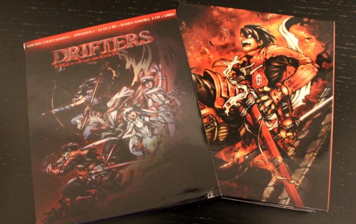 edición coleccionista de Drifters, de Selecta Visión packaging 1 - el palomitron
