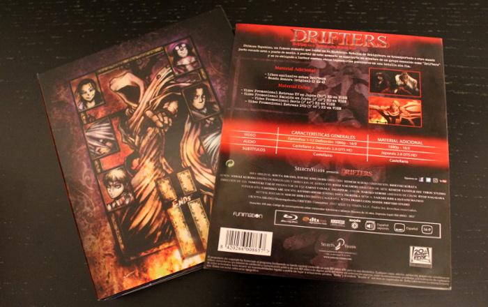 edición coleccionista de Drifters, de Selecta Visión packaging 2 - el palomitron