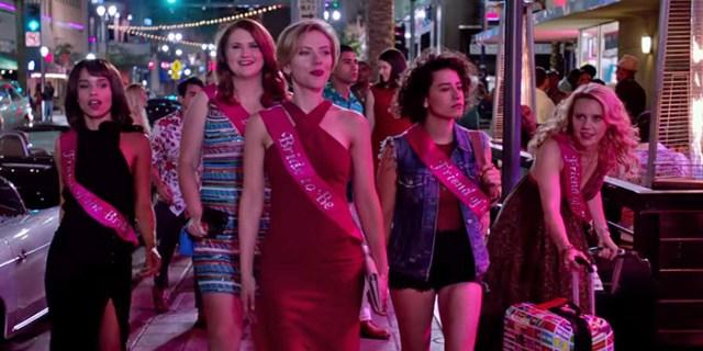 Scarlett y amigas Una noche fuera de control El Palomitrón