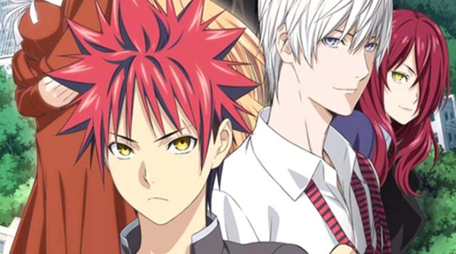 segunda parte de la tercera temporada de Shokugeki no Soma principal - el palomitron