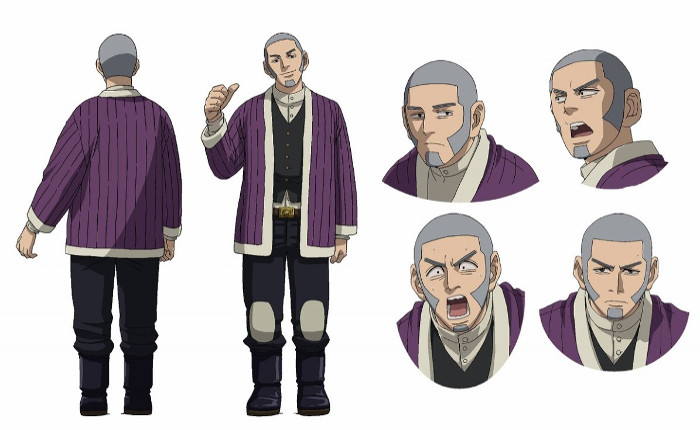 tráiler promocional del anime Golden Kamuy preso - el palomitron