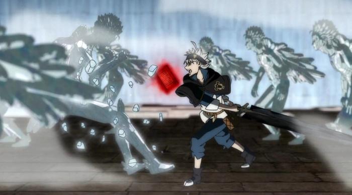 Black Clover 17 combate - el palomitron