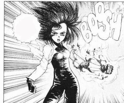 Reseña de GUNNM Battle Angel Alita #1, de Yukito Kishiro alita 5 - el palomitron