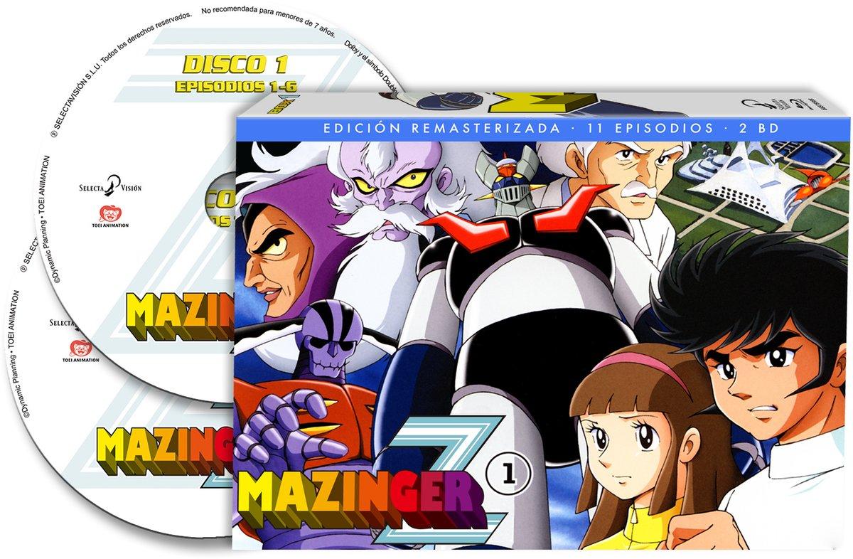 Sorteo Mazinger Z Box 1 + Box 2 de la serie original en Blu-Ray caja 1 - el palomitron