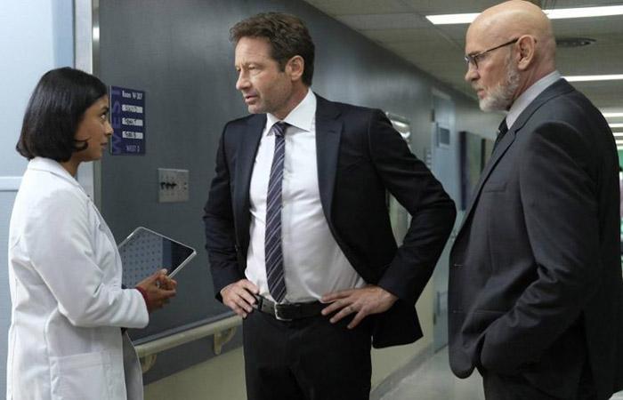 Skinner y Mulder Expediente X El Palomitrón