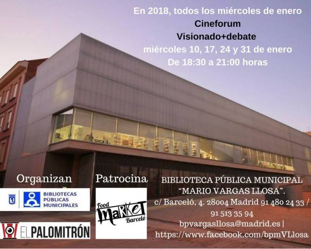 Cineforum Cine negro en Madrid