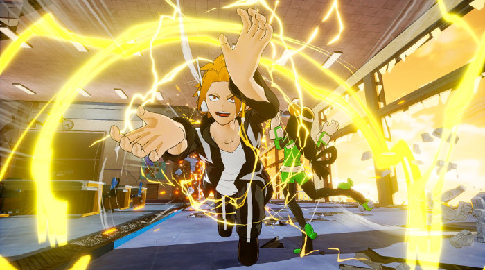 Personajes de My Hero Academia One's Justice Kaminari galeria 3 - el palomitron