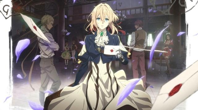 Recomendaciones anime invierno 2018 Violet Evergarden - El Palomitron