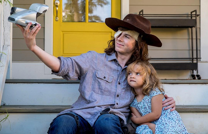 Carl y Judith The Walking Dead El Palomitrón