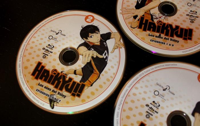 edición Blu-ray de la 1ª temporada de Haikyu!!, de Selecta Visión galeria 6 - el palomitron
