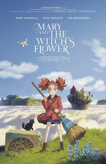 Festival Anime 2018 en el Palacio de la Prensa Mary y la flor de la bruja - el palomitron