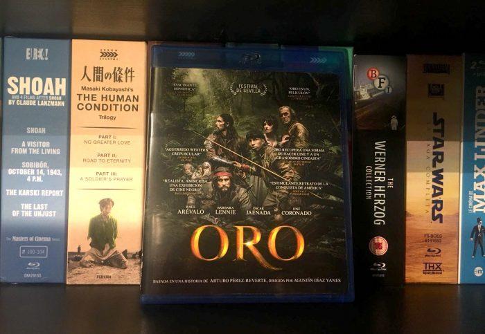 oro dvd y blu ray
