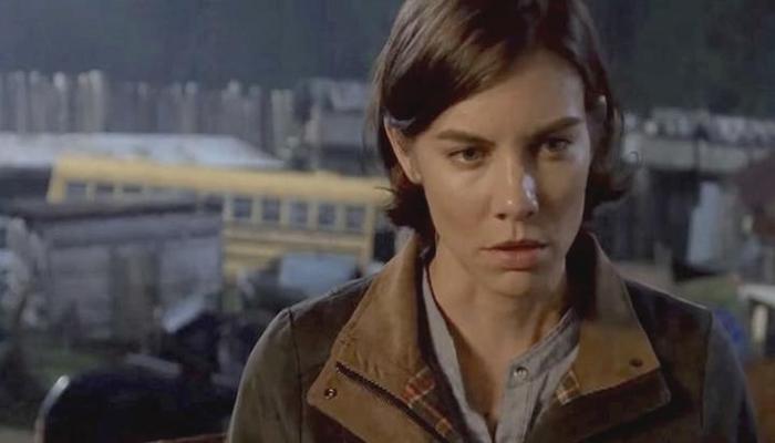 Maggie muy seria The Walking Dead El Palomitrón