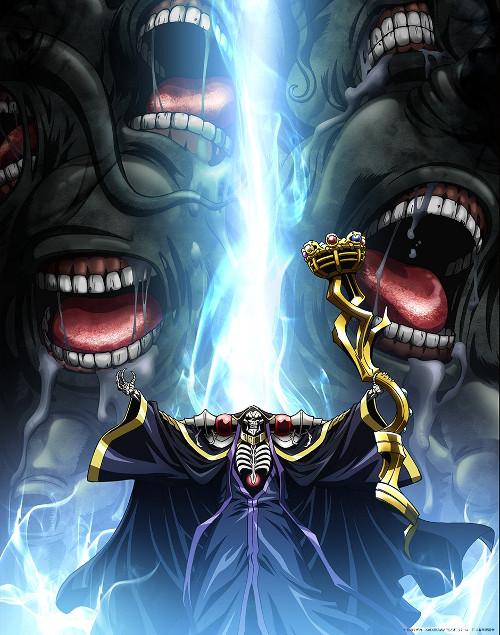 Fecha de estreno de la tercera temporada del anime Overlord imagen promocional - el palomitron