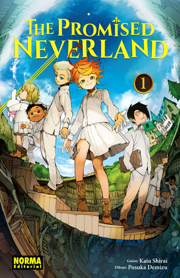 Reseña de The Promised Neverland #1 edición - el palomitron