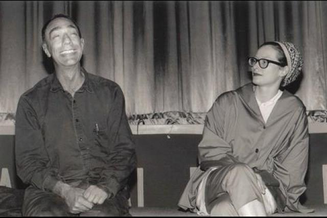 Tilda Swinton y Deek Jackman
