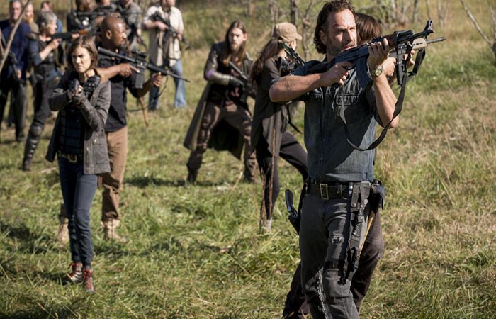 Rick y compañía The Walking Dead El Palomitrón