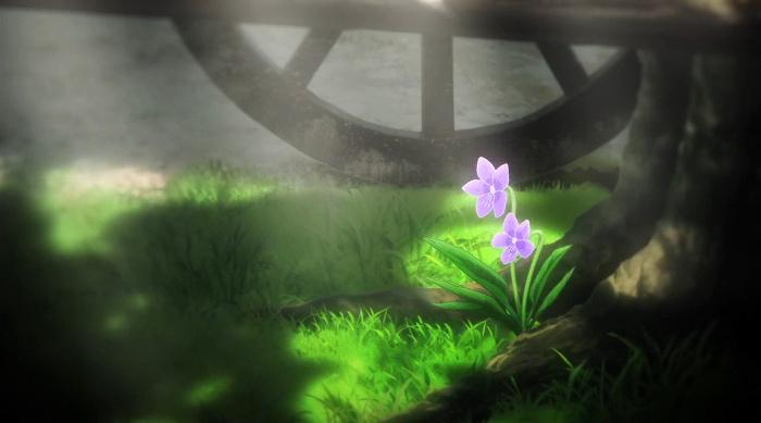 La animación de Violet Evergarden escena 4 - el palomitron