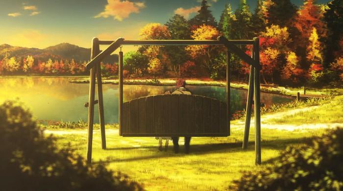 La animación de Violet Evergarden escena 7 - el palomitron