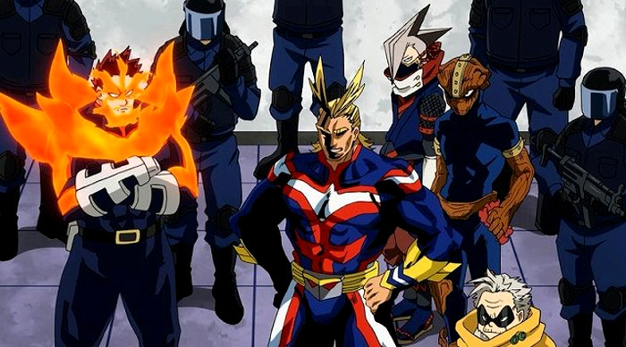 Crítica de Boku no Hero Academia 3x09 heroes - el palomitron