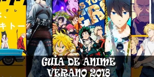 Guía de anime verano 2018 destacada - el palomitron