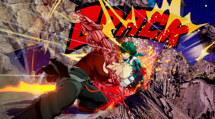 Personajes de My Hero Academia One's Justice Muscular 2 - el palomitron