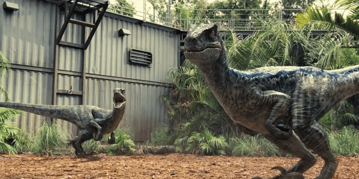 velociraptor jurassic world
