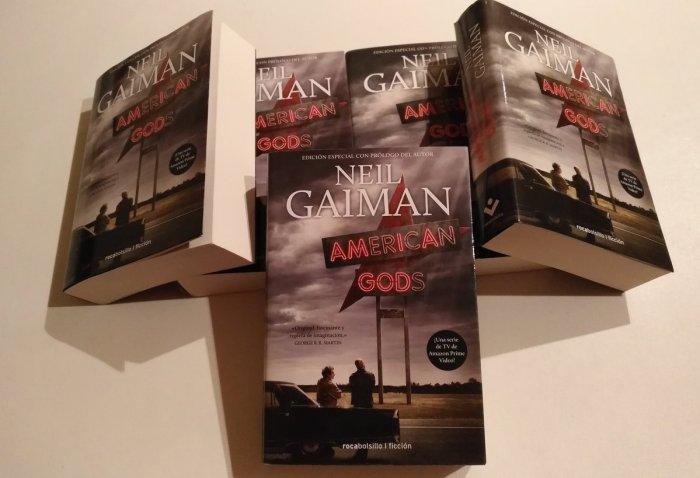 Libros American Gods - El Palomitrón