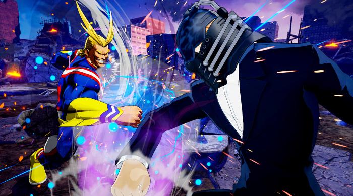 Personajes de My Hero Academia One's Justice All for One - el palomitron