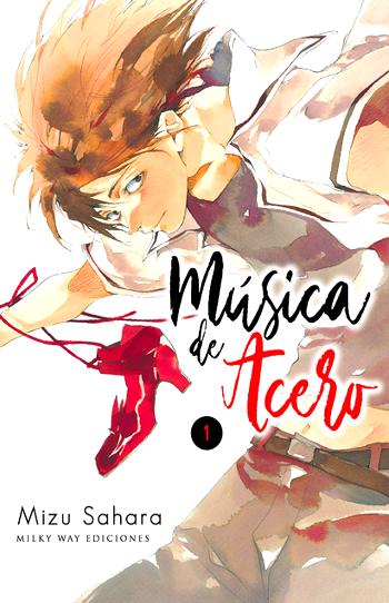 Reseña de Música de acero (Tetsugaku Letra), de Mizu Sahara Portada - el palomitron