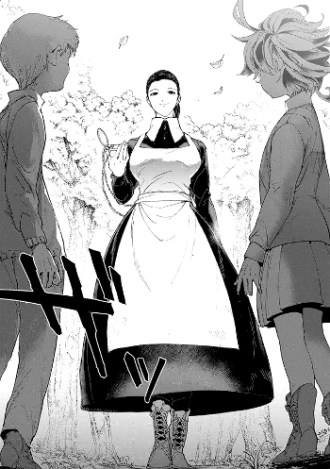 Reseña de The Promised Neverland #3 Izabella, Emma y Norman - el palomitron