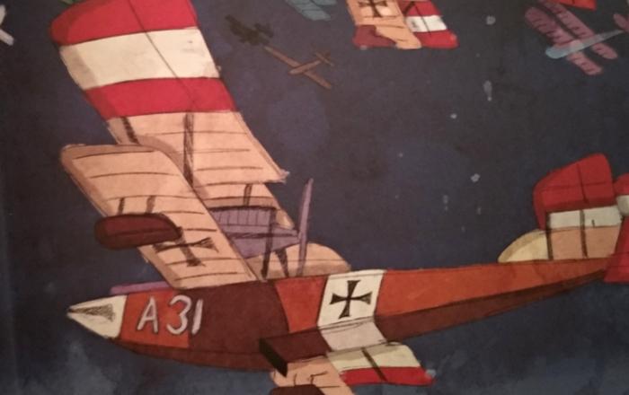 'Biblioteca Studio Ghibli Porco Rosso', de Manu Robles Galería 3 - El Palomitrón