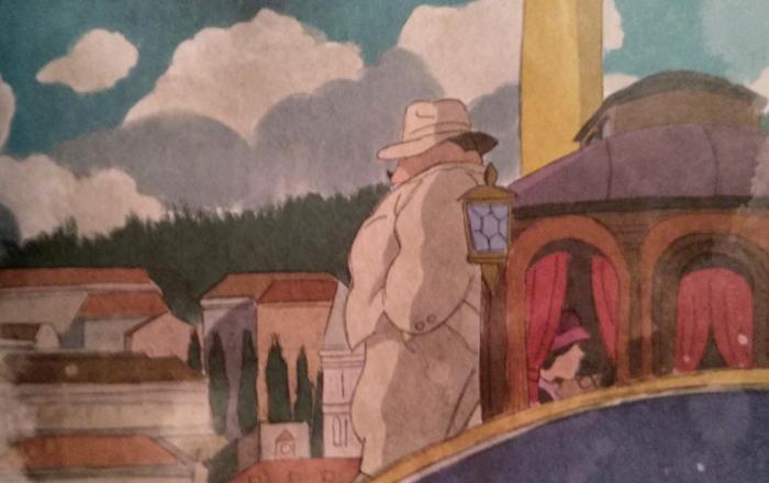 'Biblioteca Studio Ghibli Porco Rosso', de Manu Robles Galería 5 - El Palomitrón