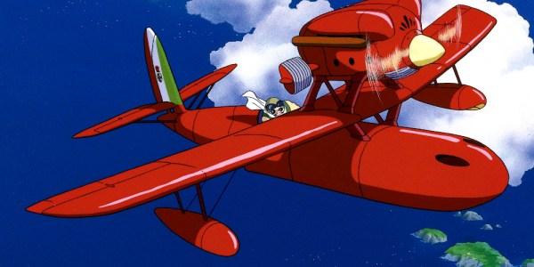 'Biblioteca Studio Ghibli Porco Rosso', de Manu Robles destacada - El Palomitrón