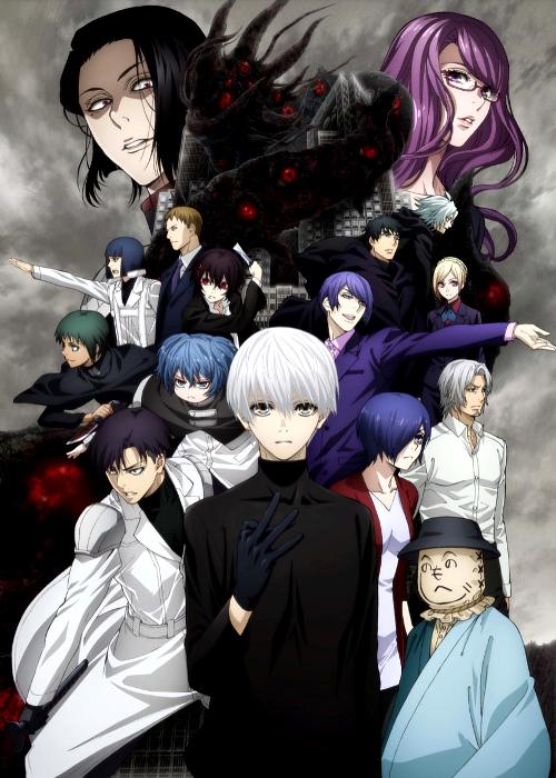 Fecha de estreno de la segunda temporada de Tokyo Ghoulre cartel 1 - el palomitron