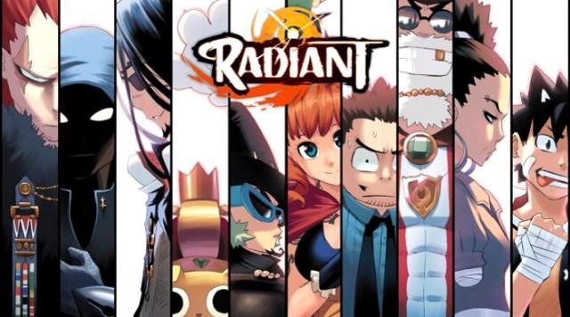 Fecha de estreno y tráiler de Radiant personajes - el palomitron
