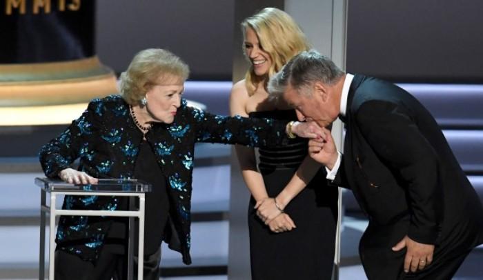 Betty White Emmys 2018 El Palomitrón