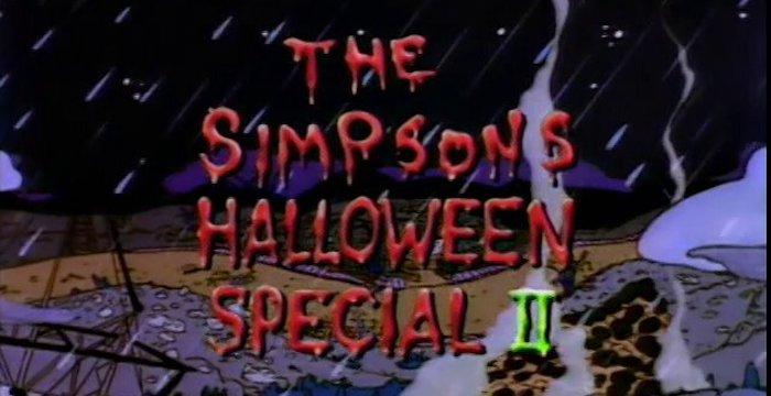 Especial Casa Arbol Terror II Simpsons – El Palomitrón