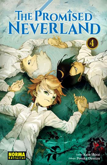 Reseña de The Promised Neverland #4 portada edición - El Palomitrón
