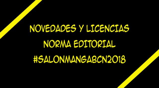 licencias de Norma Editorial XXIV Salón del Manga de Barcelona - El Palomitrón
