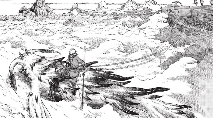 Drifting Dragons #1, de Taku Kuwabara dragón - el palomitron
