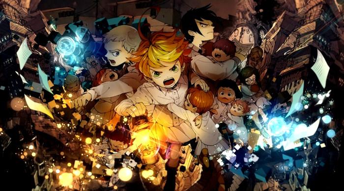 Los 10 mangas más vendidos de 2018 The Promised Neverland - el palomitron